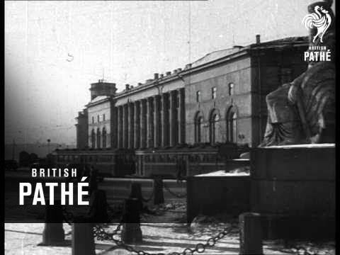 The Palace Of Culture - Leningrad Aka Russia Street Scenes - General View Factory, Town (1933)