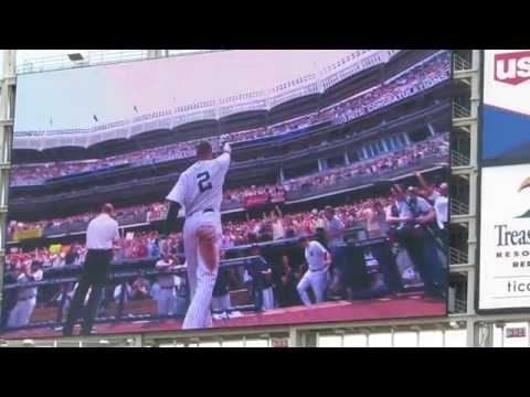 7/5/14 Derek Jeter Day @ Target Field pre-game ceremony