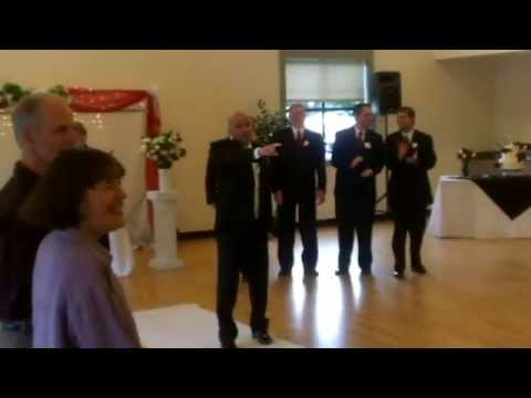 SURPRISE ENTRANCE!! Bruno Mars - Marry You - Wedding Ceremony Entrance for Scott & Anna