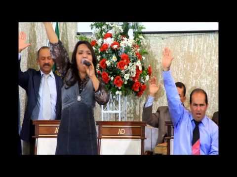 Raquel Santos Cantando Milagre No Jordão (ao vivo)