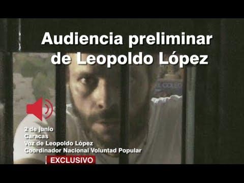 Venezuela: Escucha la defensa de Leopoldo López