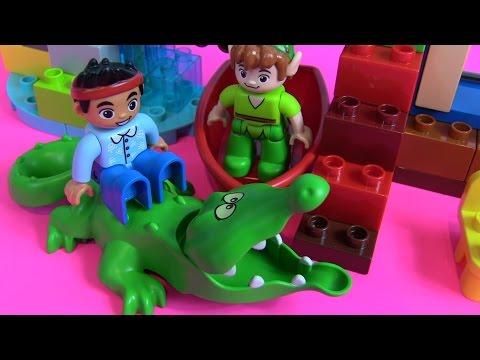 Lego Duplo Cướp Biển Jake And The Neverland - Chơi Cùng Bé Peanut