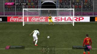 UEFA EURO 2012 PC Gameplay Spain - Portugal HD