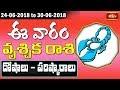 Scorpio Weekly Horoscope By Dr Sankaramanchi Ramakrishna Sastry   24 June 2018 - 30 June 2018