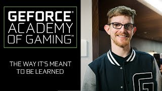 GeForce Academy of Gaming