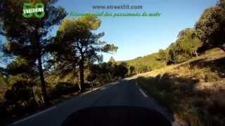 Roadbook moto Alpes de Haute Provence : Le Luberon