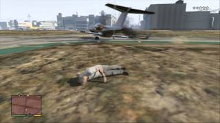 Grand Theft Auto V How To Get To The Air Port And Fly A