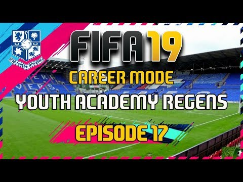 FIFA 19 - Career Mode - Youth Academy Regens - Tranmere Rovers - Episode 17