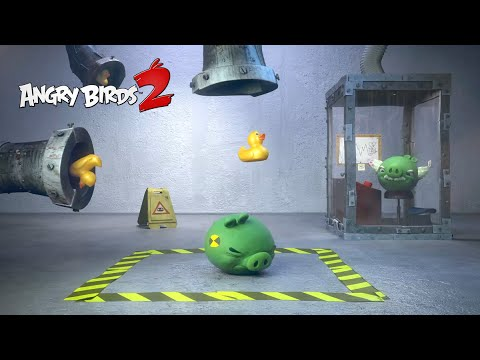 Angry Birds 2: Test Piggies - Zlatá kačka