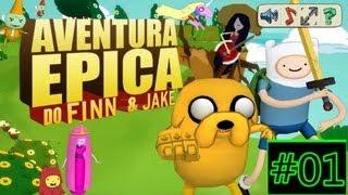 Aventura Epica Do Finn & Jake #01 / Indo Ate O Mapa 3