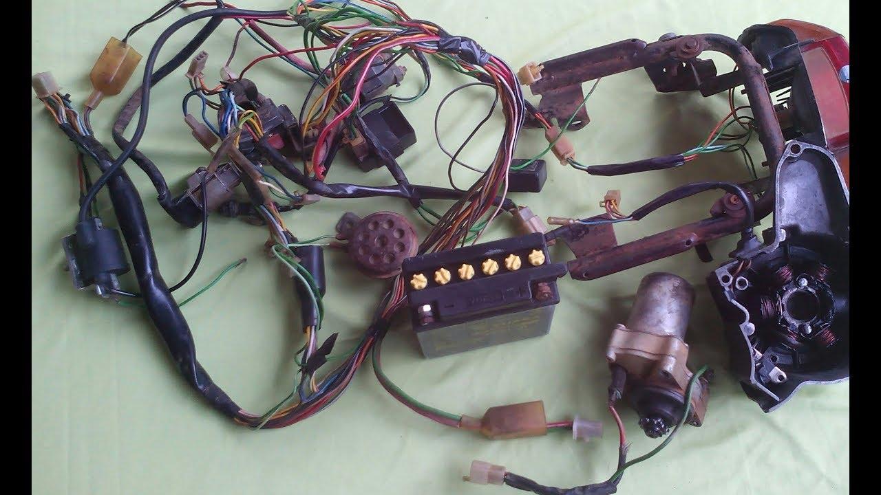 Rangkaian Jalur Kabel Bendik Stater Grand