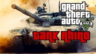 GTA V How To Steal A Tank (GTA 5)