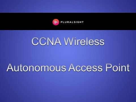 How To Configure Autonomous Access Points