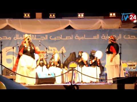 تيفي 24 فعاليات مهرجان قوافل سيدي إفتي في دورته 6