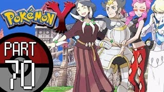 Pokemon X And Y Part 70: The Pokemon League Elite Four