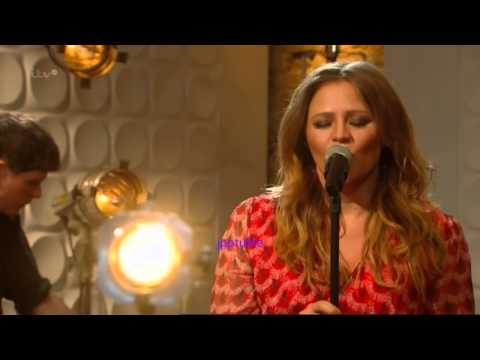 Kimberley Walsh - ITV Weekend singing The Road - 5 July 14