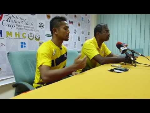 2014 Sultan Azlan Shah Cup - Day 3 - Malaysia Post Match Press Conference