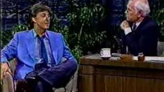 Johnny Carson: Paul McCartney, 1984