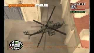 Código Do Helicóptero De Guerra Hunter Do GTA San Andreas