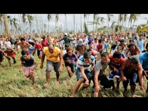 UNSEEN video of WRATH SUPER TYPHOON Haiyan Yolanda