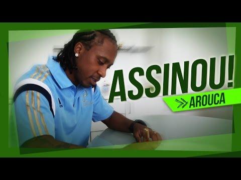 EXCLUSIVO: Arouca assina com o Verdão e fala com a TV Palmeiras
