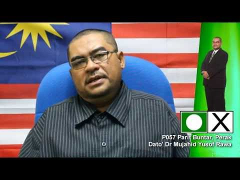 Profil Dr. Mujahid (Calon Pas di P057, Parlimen Parit Buntar)