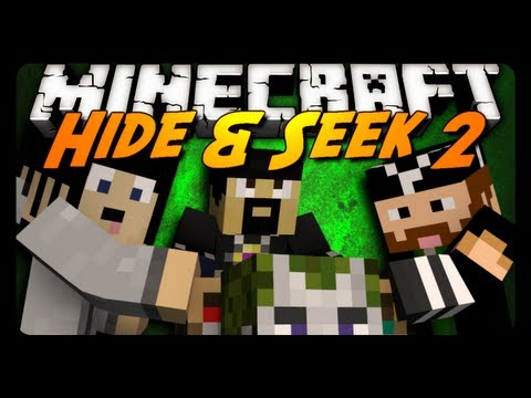 Minecraft Mini-Game: HIDE N' SEEK #2! w/ AntVenom & Friends!