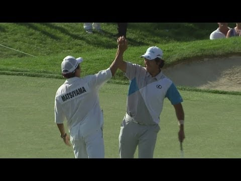 Hideki Matsuyama claims his first PGA TOUR victory at the Memorial