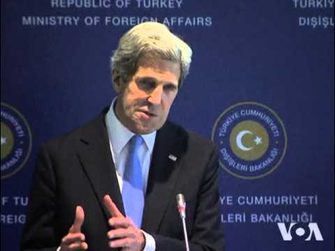 Kerry Meets With Palestinian, Israeli Leaders On Reviving Peace Talks