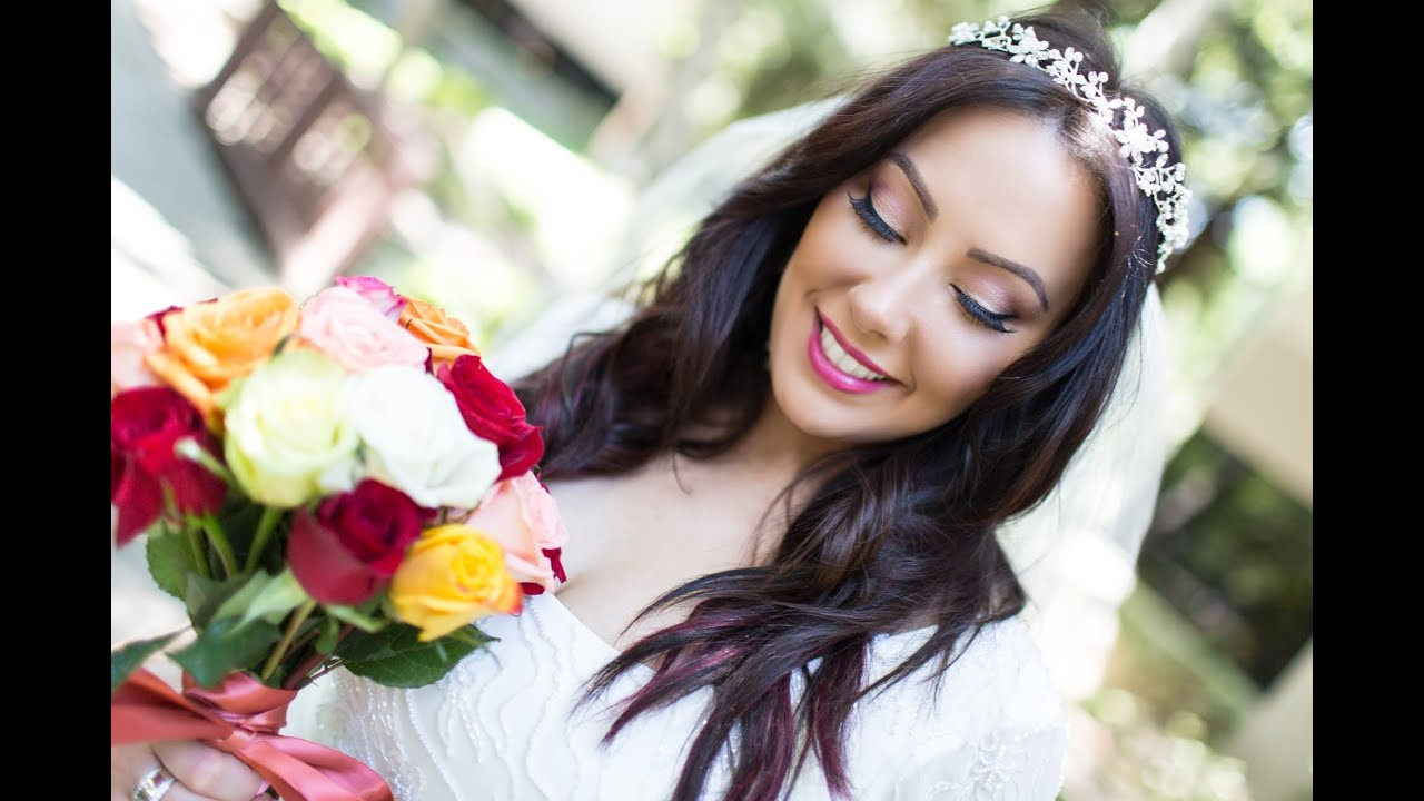 Wedding Makeup That Lasts All Day : Modern and Fresh Bridal Makeup Makeup Geek - YouTube