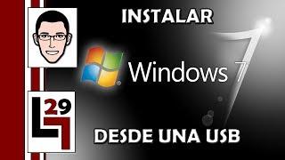 Como Formatear Tu PC / Instalar Windows Desde Una USB
