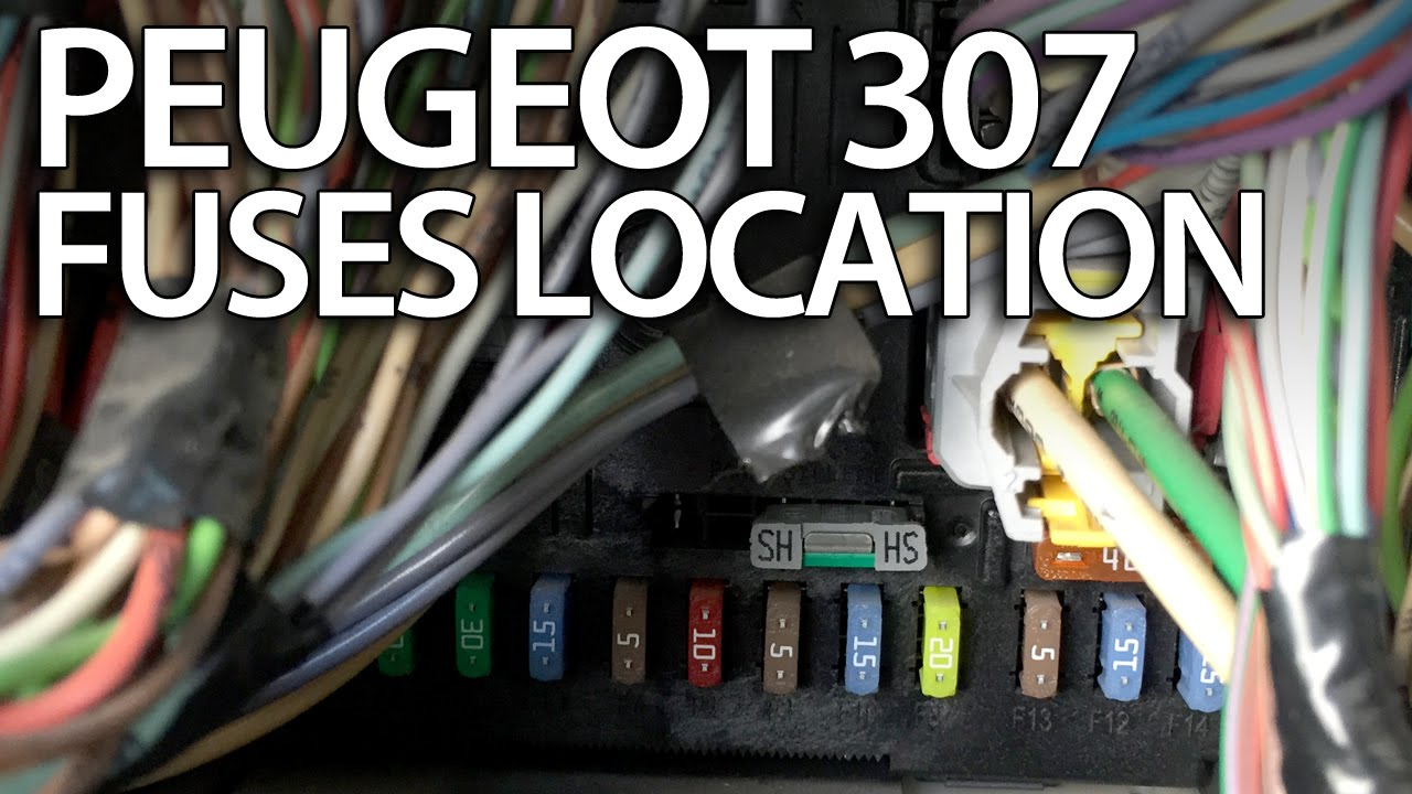 Where are fuses relays and obd port in peugeot fuse