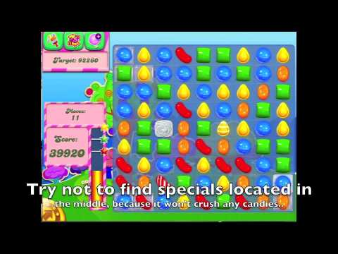 Candy Crush Saga - HOW TO DO level 58 easily - YouTube