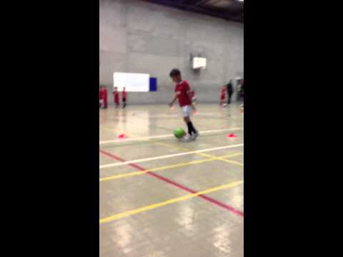 Max's 2nd football training session