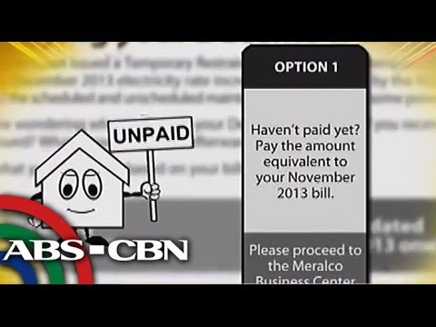 How Meralco billing works amid TRO