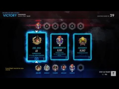 Overwatch tracer carry [I killed myself twice]