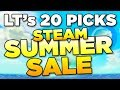 20 GAME PICKS Summer Steam Sale Luetin s guide