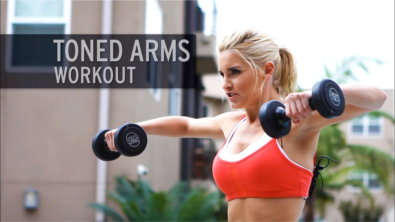 Toned Arms Workout - YouTube