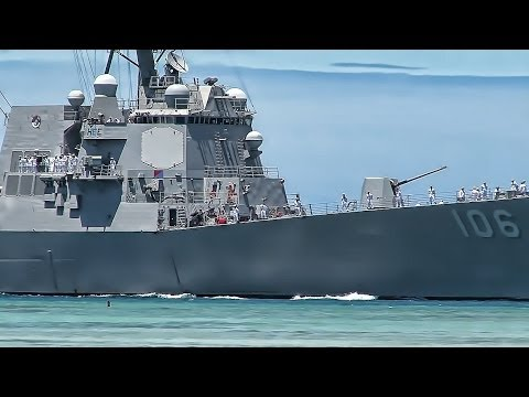 USS Stockdale (DDG 106) Arrives At Pearl Harbor - Hawaii