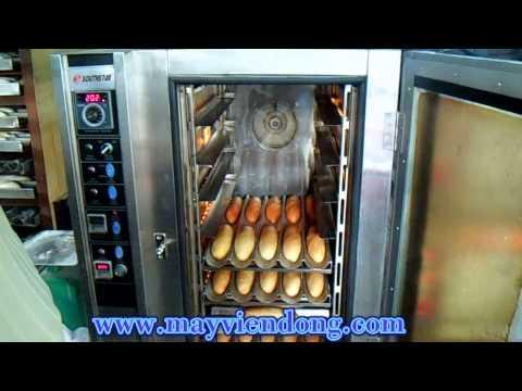 [Lò nướng bánh mì đối lưu 5 - 10 khay HCM] , Lò nướng bánh mì đối lưu dùng điện