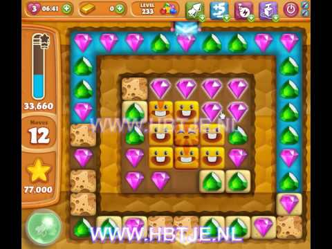 Diamond Digger Saga level 233