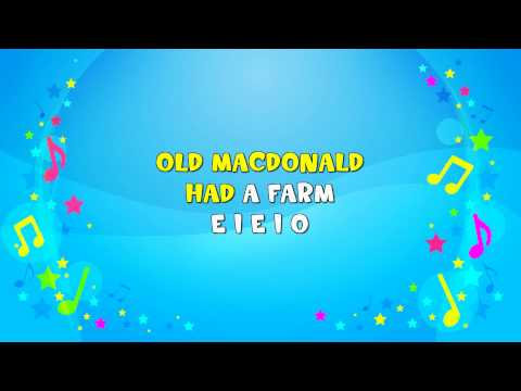 Old MacDonald Sing-A-Long Jive Junior