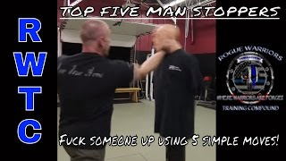 Top 5 simple moves to end a street fight in SECONDS