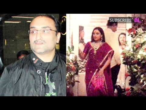 Rani Mukerji and Aditya Chopra's secret wedding becomes the butt of jokes on Twitter