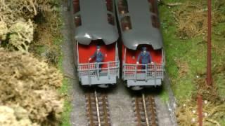 Lahnsteiner Modellbahntage: Standseilbahn - Modell der Malbergbahn in Bad Ems