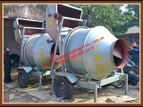 MXDNK_098 890 3439 May tron be tong JZC350, máy trộn bê tông, trạm trộn bê tông .
