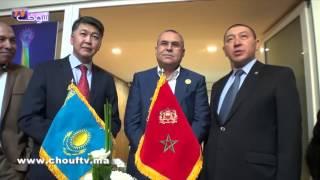 بالفيديو  حسن البركاني سفيرا فخريا بقنصلية كازاخستان بالدار البيضا       خارج البلاطو