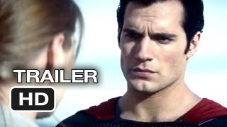 Man Of Steel TRAILER 2 (2013) Superman Movie HD