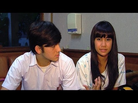 Anisa Rahma Kecelakaan di Lokasi Syuting - Was Was 22 Januari 2014