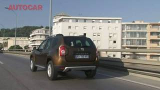 Dacia Duster 2013 test sürüşü - İngilizce